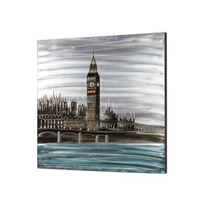 Cuadro óleo/alum Londres - Imagen 1