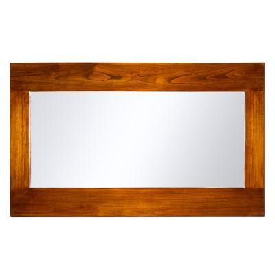 Espejo de pared en madera - Imagen 1
