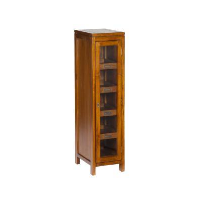 Vitrina con puerta 4 estantes - Imagen 1