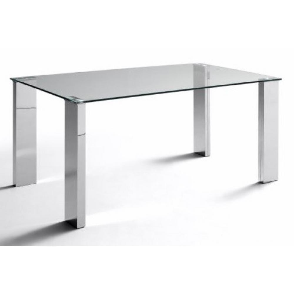 Mesa Comedor Modelo Eco Stela Estructura Cromada 160x90 - Imagen 1