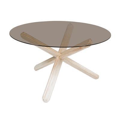 Mesa redonda cristal - Imagen 1