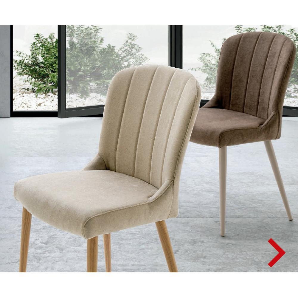 sillas comedor color crema