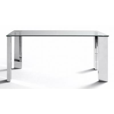 Mesa Comedor Modelo Eco Stela Estructura Cromada 120x70 - Imagen 2