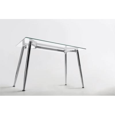 Mesa de Oficina Bugatti Cristal 120x70 - Imagen 1