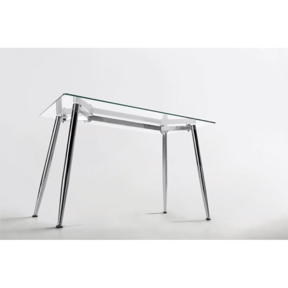 Mesa de Oficina Bugatti Cristal 120x70 | Mobelfy