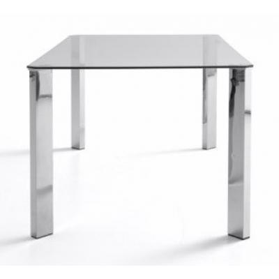 Mesa Oficina Patas Cromadas Modelo Zenda 120x70 | Mobelfy