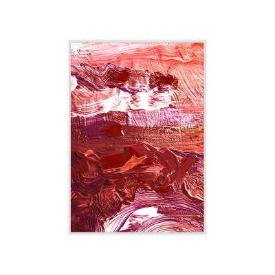 Cuadro óleo rojo - Imagen 1