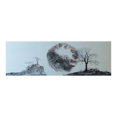 Cuadro paisaje luna - Imagen 1