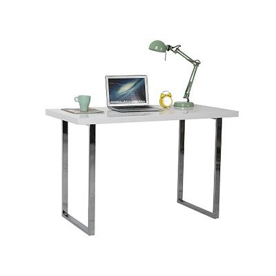 Mesa escritorio blanca - Imagen 1