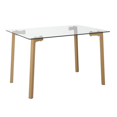 Mesa escritorio cristal - Imagen 1