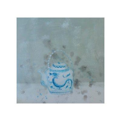 Cuadro tetera azul - Imagen 1