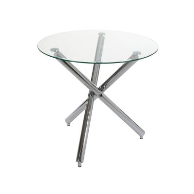 Mesa redonda con pies metal - Imagen 1