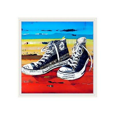 Cuadro zapatillas - Imagen 1