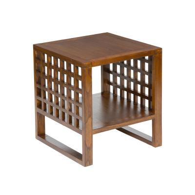 Mesa centro auxiliar madera - Imagen 1