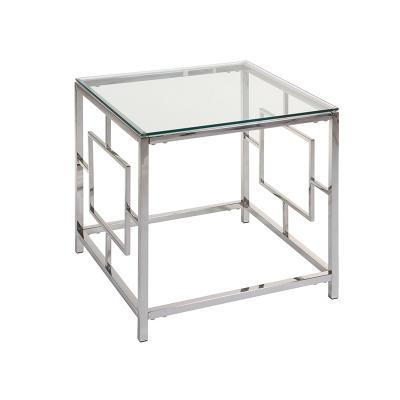 Mesa auxiliar cristal Vel - Imagen 1