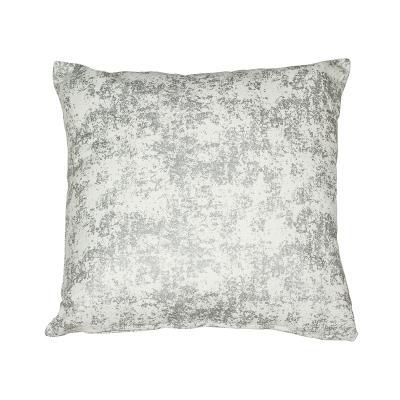 Cojín mármol plata - Imagen 1