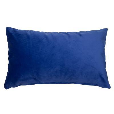 Cojín Velvet azul - Imagen 1