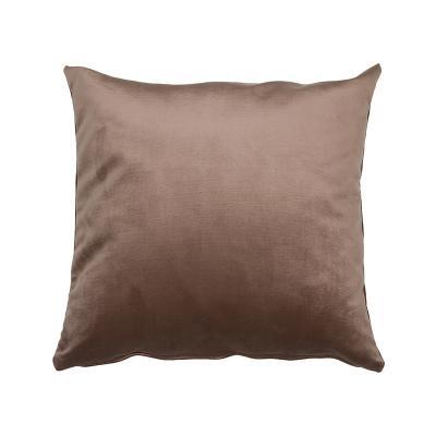 Cojín Velvet marrón - Imagen 1