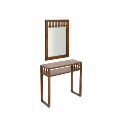 Recibidor con espejo colonial - Imagen 1