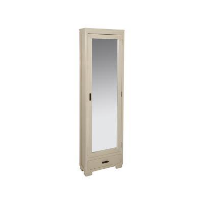 Zapatero crema puerta espejo - Imagen 1