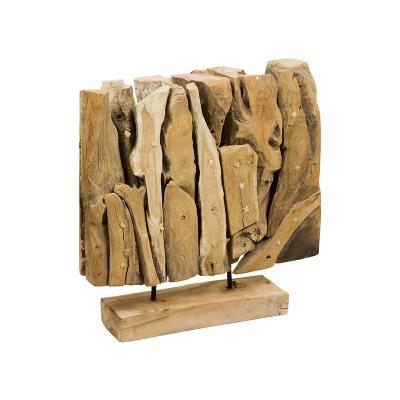 Escultura tronco de árbol - Imagen 1
