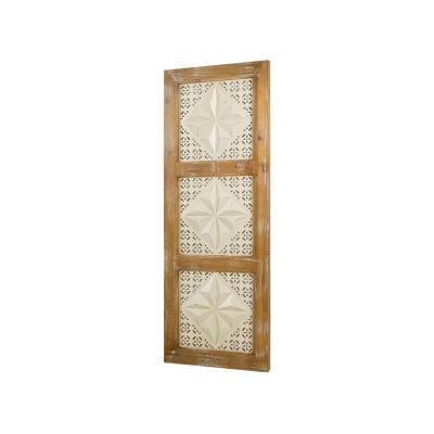 Cuadro madera y metal - Imagen 1