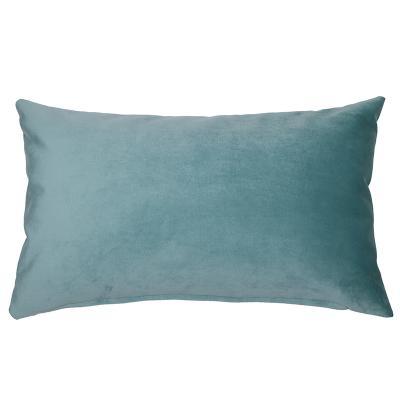 Cojín Velvet aqua - Imagen 1