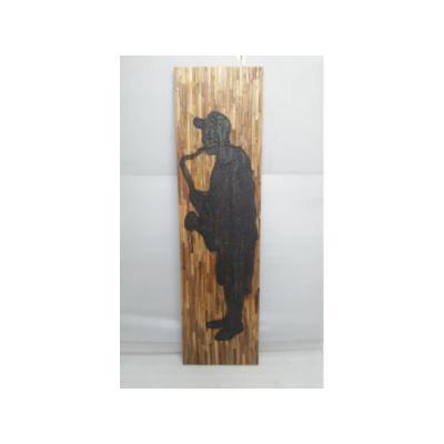 Cuadro madera saxo - Imagen 1