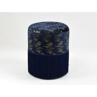 Puff deco azul - Imagen 1