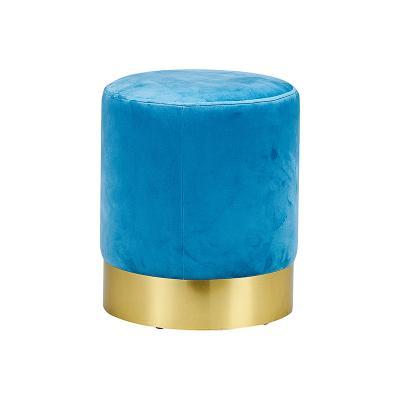 Taburete oro azul - Imagen 1
