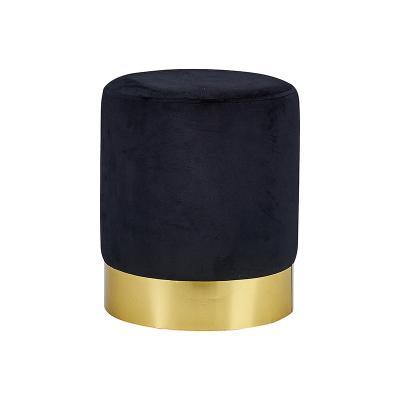 Taburete oro negro - Imagen 1
