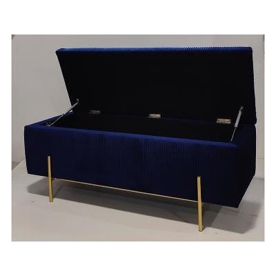 Baúl deco azul - Imagen 1