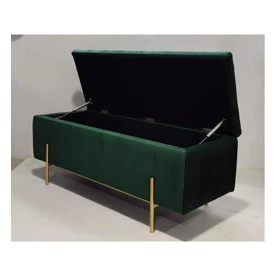 Baúl deco verde - Imagen 1