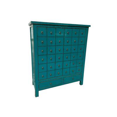 Armario 2 puertas azul - Imagen 1