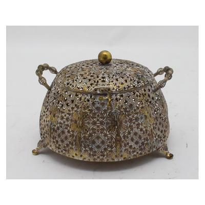 Caja metal dorada - Imagen 1