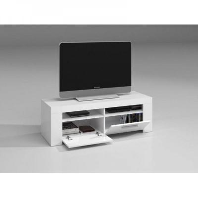 Mueble TV 2 puertas Urban Blanco Brillo - Imagen 1