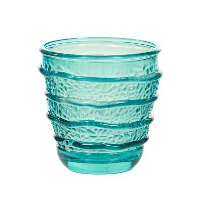 Vaso Organic turquesa - Imagen 1