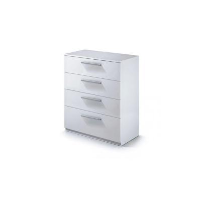 Cómoda 3 Cajones Low Cost Color Blanco - Imagen 1