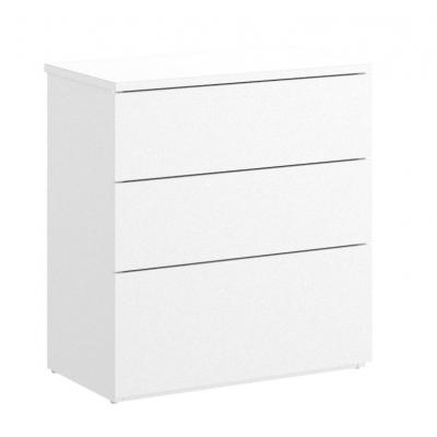 Mesita 3 cajones modelo ALICE de 58 x 52 x 34 en color Blanco - Imagen 1