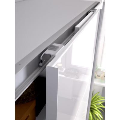 Armario 2 puertas corredera 150 modelo SLIDE de 204 x 150 x 65 en color Blanco Brillo - Imagen 3