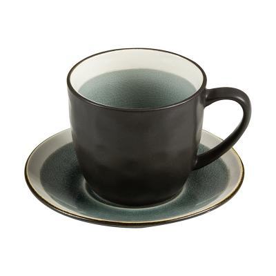 Taza te plato abitare gris - Imagen 1