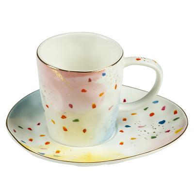 Taza y plato colour - Imagen 1