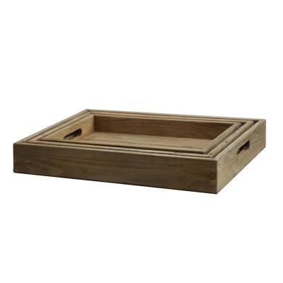 Bandeja pequeña madera - Imagen 1
