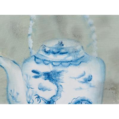 Cuadro tetera azul - Imagen 2