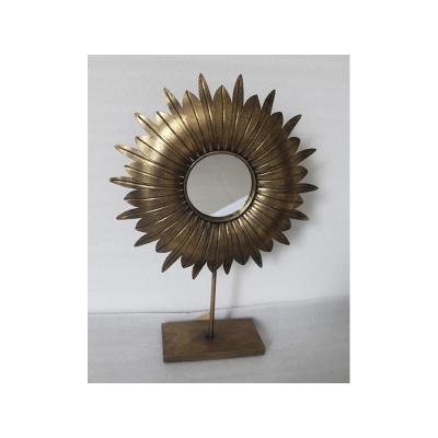 Espejo metal mesa - Imagen 1