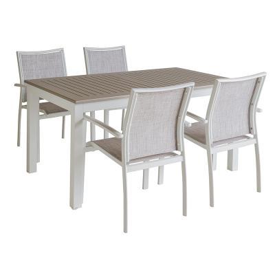 Mesa jardín + 4 sillas - Imagen 1