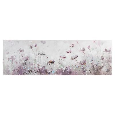 Cuadro flores panorámico - Imagen 1