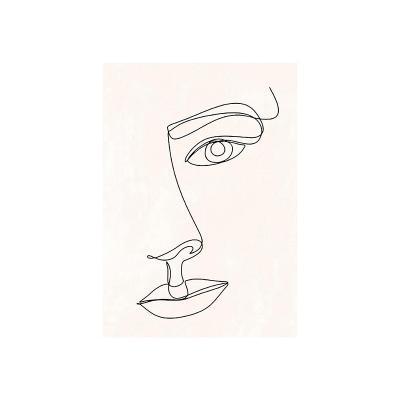 Cuadro cara mujer - Imagen 1