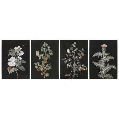 Set 4 cuadros plantas - Imagen 1