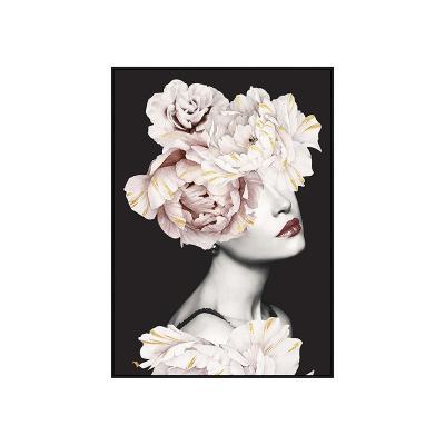 Cuadro flores pelo - Imagen 1
